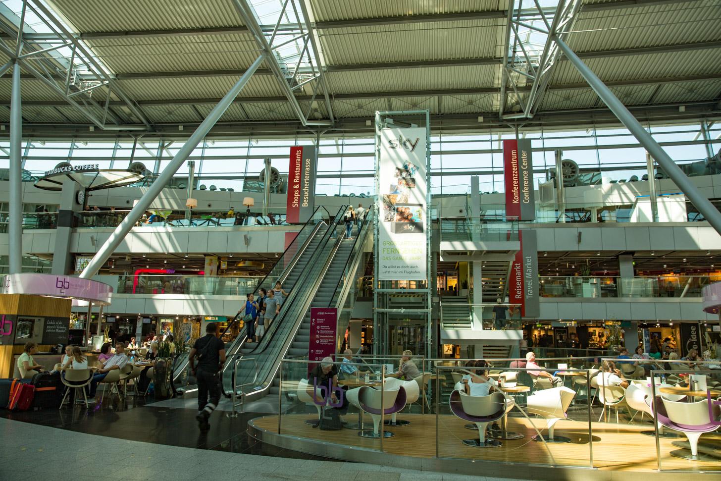horeca op Düsseldorf Airport
