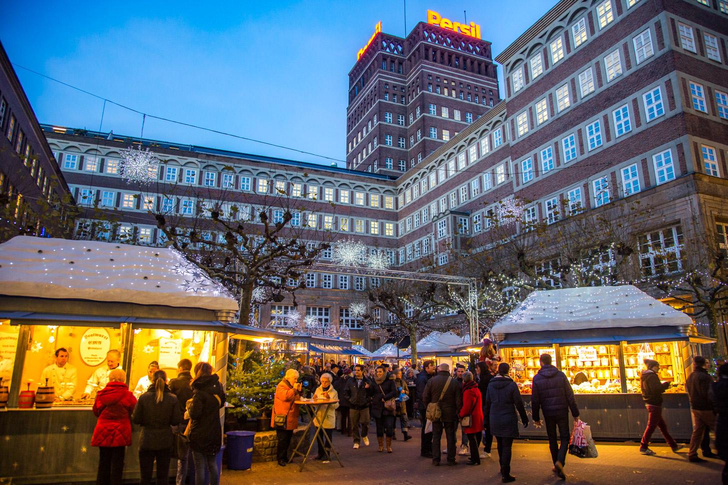 kerstmarkt van Düsseldorf