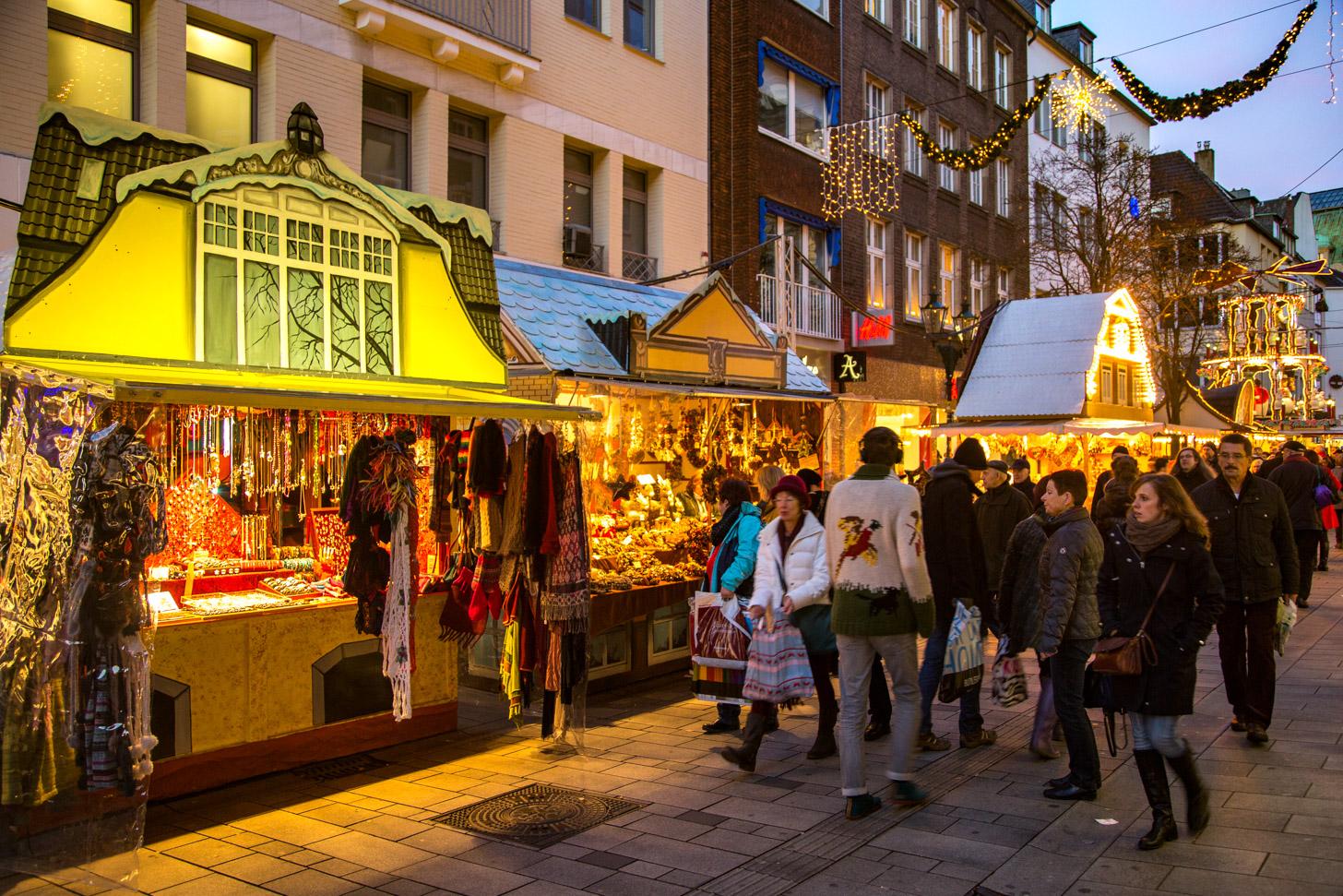 Kerstmarkten in Düsseldorf