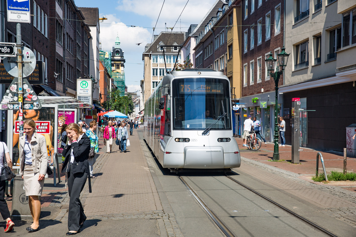 Openbaar vervoer met de tram