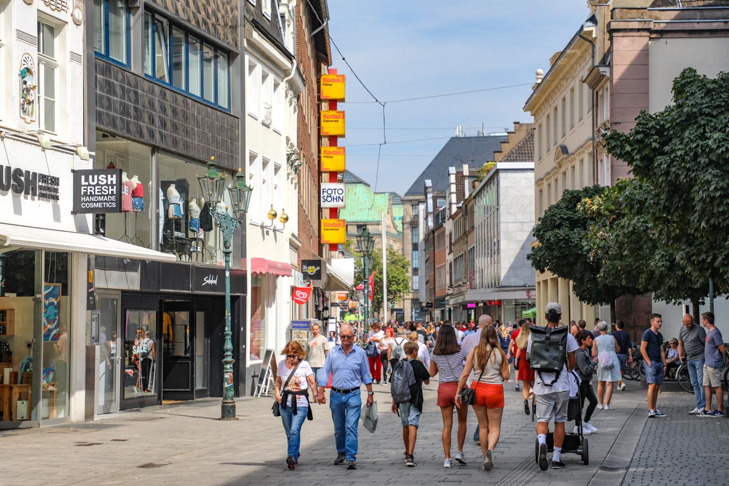 winkelen in Düsseldorf